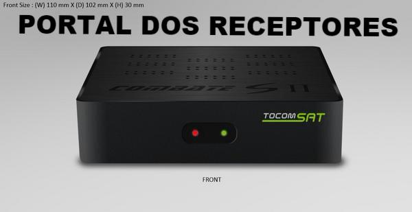 Baixe aqui sua Atualização Tocomsat Combate S II HD