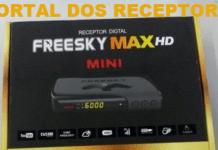 Baixe aqui sua Atualização Freesky Max HD Mini