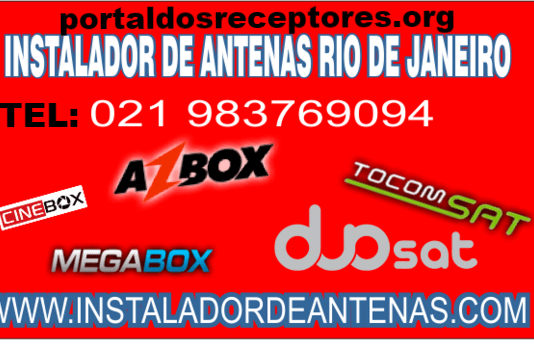 Instalador de Duosat Azamerica Cinebox Te: 21 983769094
