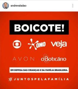 boicote de André Valadão