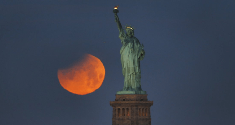 Lua de sangue será vista em todo o Brasil.