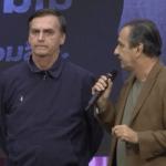 Silas Malafaia e Bolsonaro são aliados políticos.
