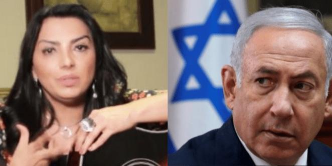 Cantora gospel Eyshila exalta presença do primeiro-ministro de Israel no Brasil.