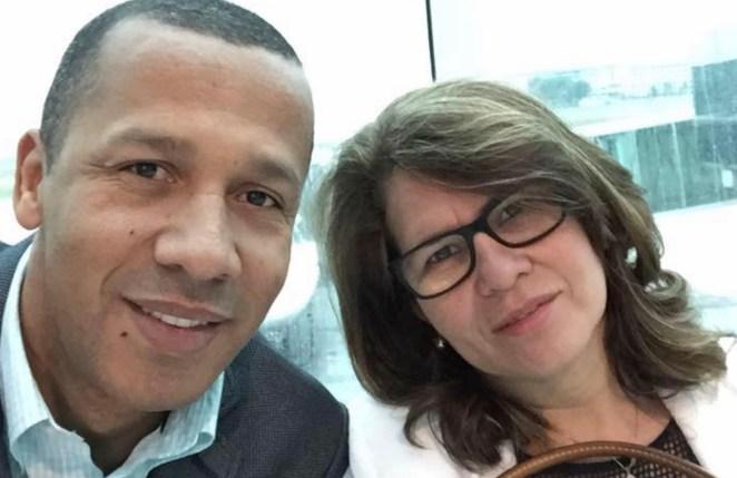 Pastor Reginaldo e sua esposa. Reprodução: Facebook.