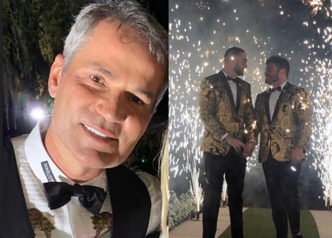 Pastor evangélico Márcio Poncio celebra casamento gay.