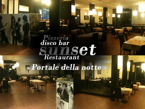Disco Bar Sunset club Ristorante Pizzeria Lainate Milano