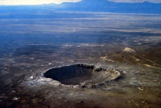 Cratere negli Stati Uniti da visitare