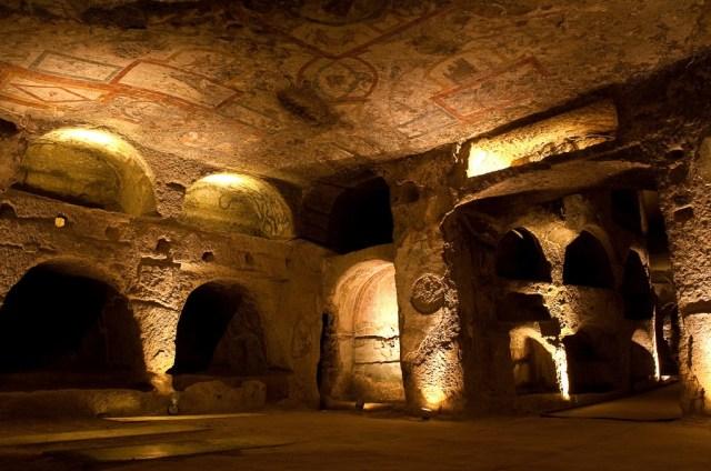 catacombe a Napoli