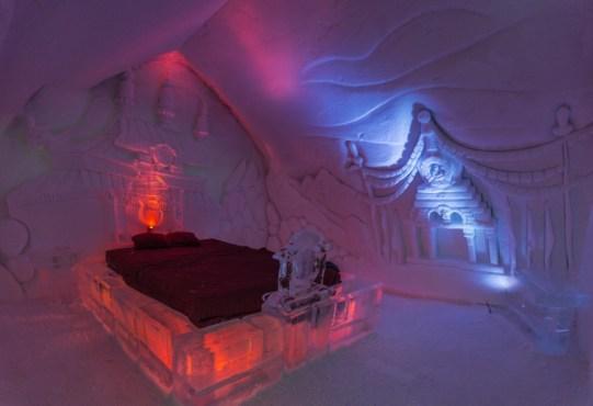 hotel di ghiaccio in Canada