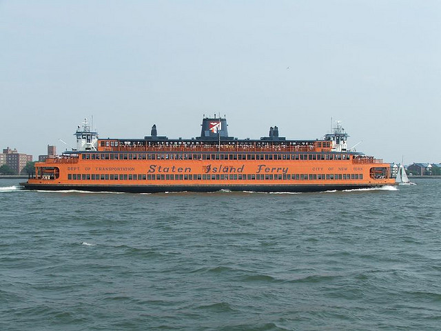 Staten Island Ferry a New York