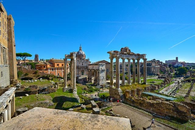 visitare i Fori Romani e Colosseo