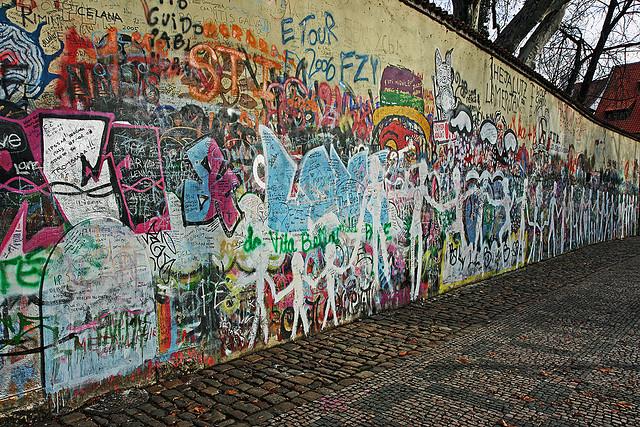 Muro a Praga