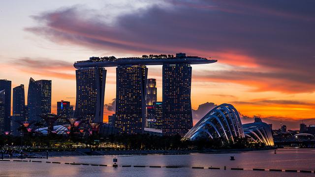 Visitare Marina Bay Singapore