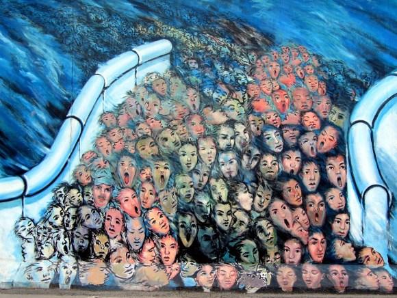 Graffiti Muro di berlino