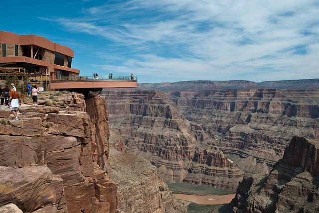 skywalk on Grand Canyon