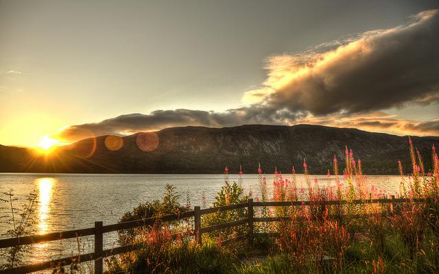 Il lago di Loch Ness