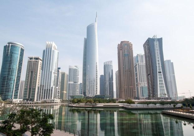 i grattacieli di Dubai