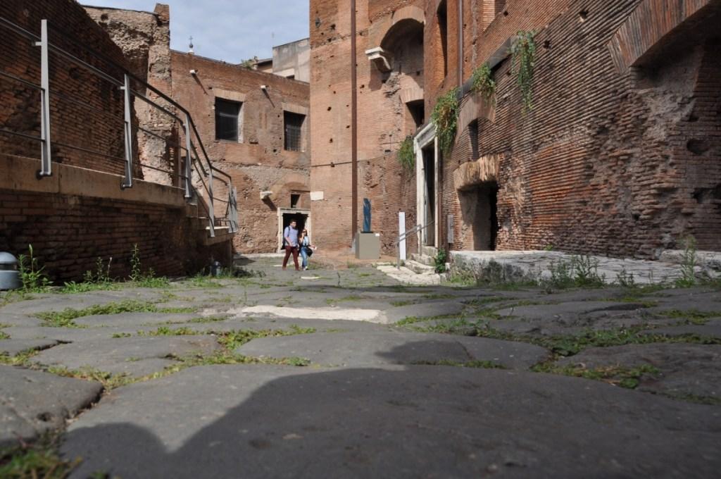 Via Biberatica a Roma