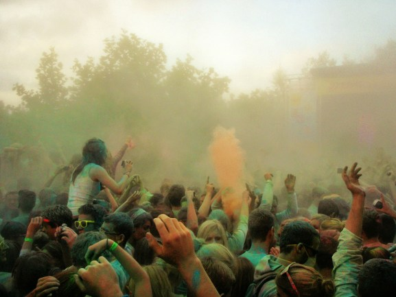 festa dei colori India