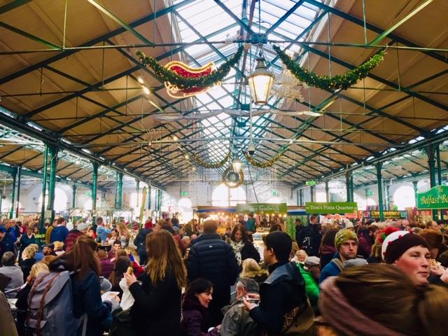 visitare Belfast sotto Natale