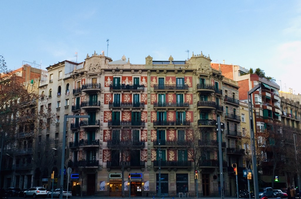 passeggiare per Barcellona