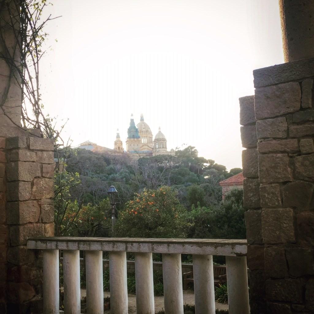visitare i giardini di Barcellona