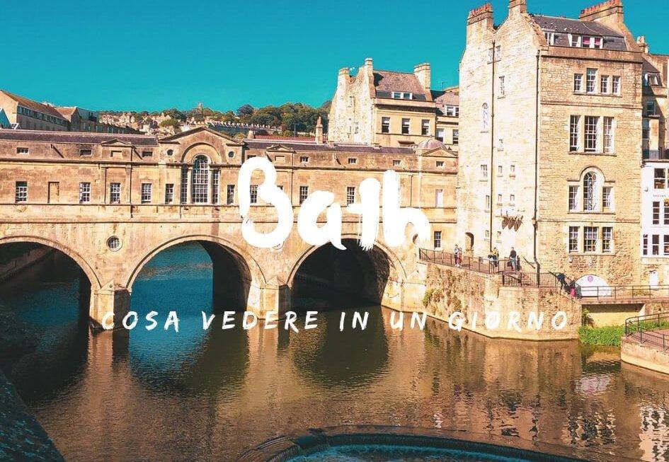 Visitare Bath in un giorno cosa vedere