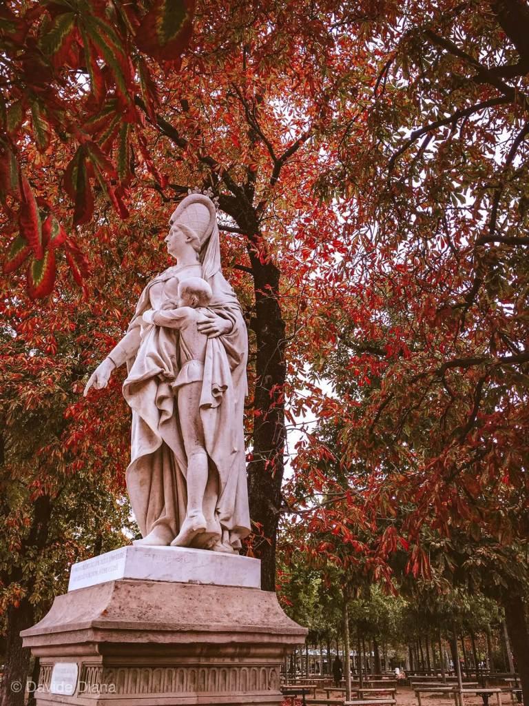 visitare Jardin du Luxembourg in ottobre