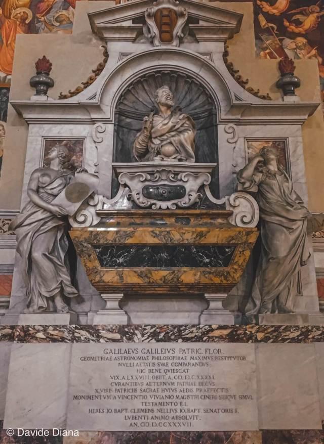 Basilica santa croce tomba Galileo