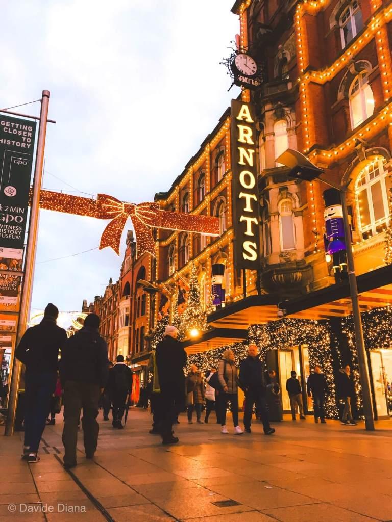 visitare Dublino sotto Natale