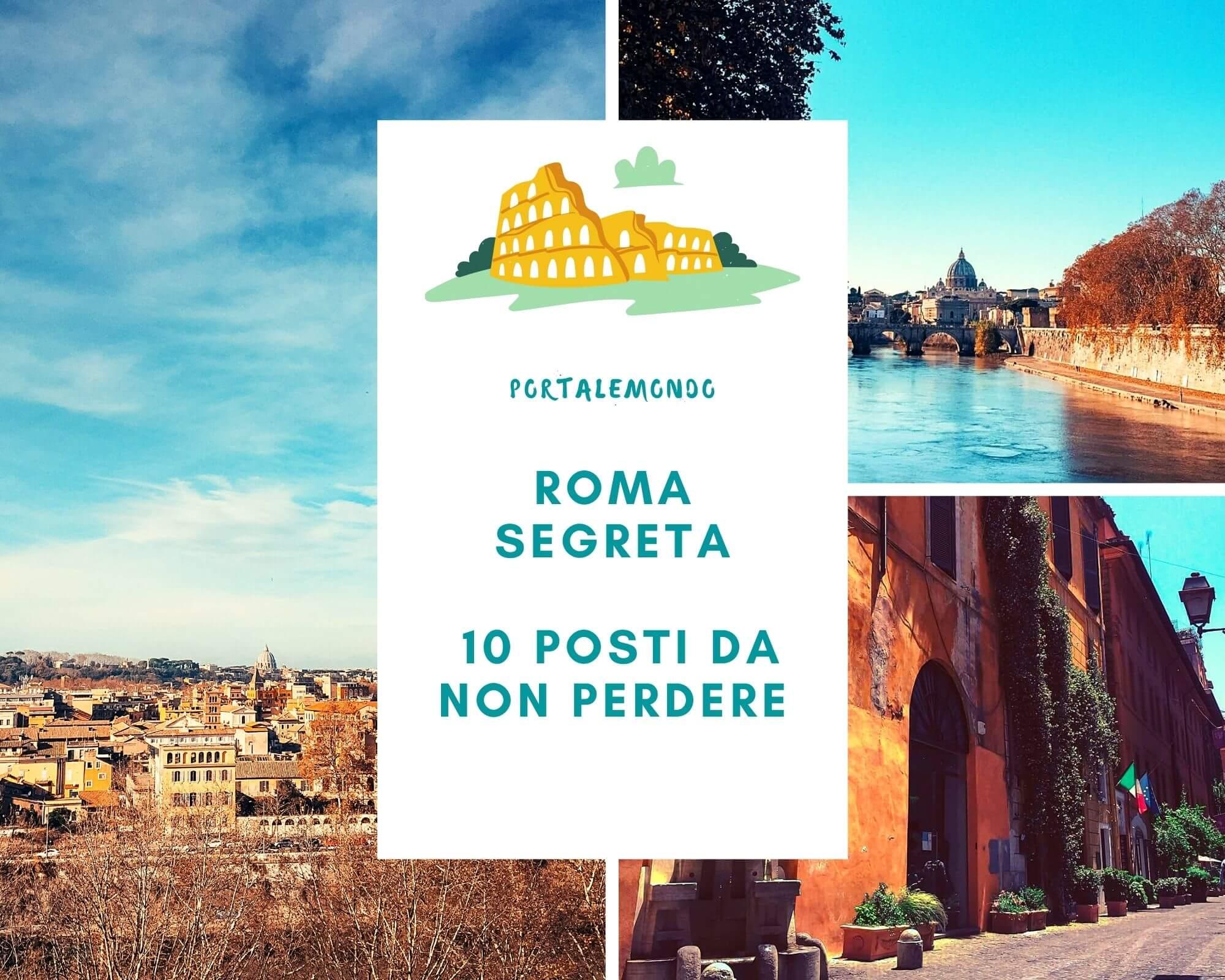 Roma segreta da visitare