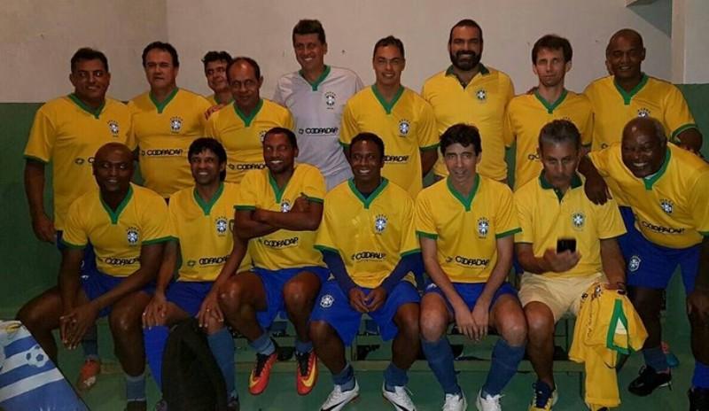 2a3e8a7faa Seleção Brasileira Master fará jogo no próximo dia 02 de julho em cidade do  interior do Piauí
