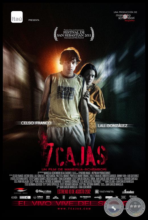 Portal Guaran  7 CAJAS  Pelcula Paraguaya  Cine Paraguayo  Ao 2012