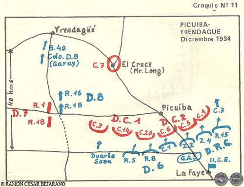 Resultado de imagen para batalla de Picuiba-Yrendague