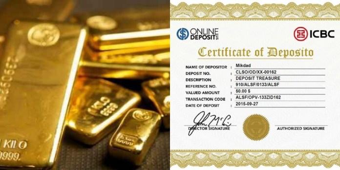 investasi emas atau deposito