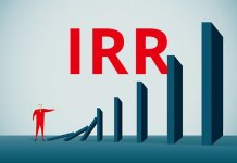 rumus irr internal rate of return