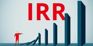 rumus irr internal rate of return