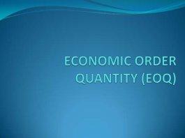 rumus eoq economic order quantity