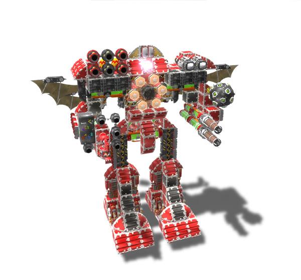 Banjo Kazooie Nuts Bolts Robos art