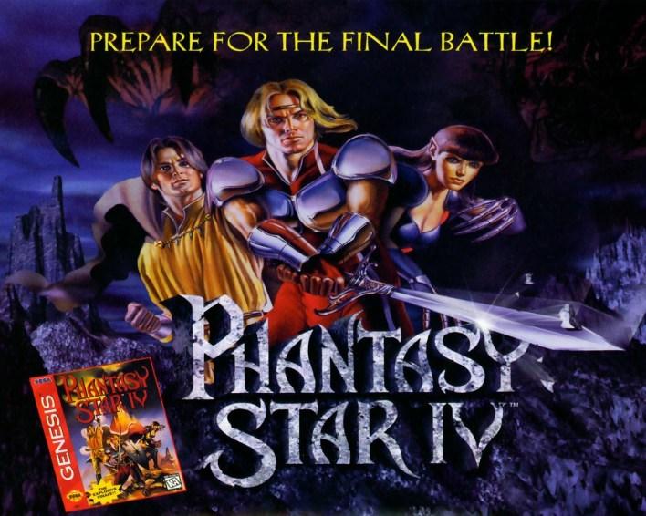Phantasy Star IV Virtual Console