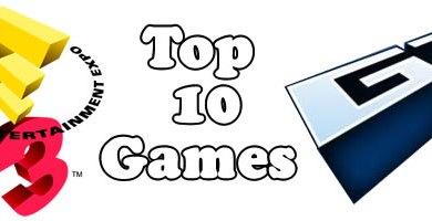 Photo of E3 2009: Top 10 Games mais esperados pela Gametrailers!