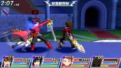 Foto de 15 segundos de Tales of VS. (PSP)