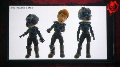 Foto de Gears of War também vai aparecer na Avatar Marketplace!