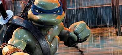 Foto de [You Tube]: TMNT 2007 – Leonardo vs Rafael!