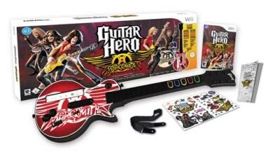 Foto de Kit Guitar Hero em promoção! Exceto para Wii