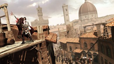 Photo of Jogando a 1ª hora de Assassin's Creed II e vídeo sobre DLCs de 2010!