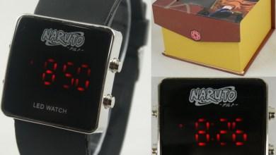Foto de Produtos de Animes – Novos Relógios