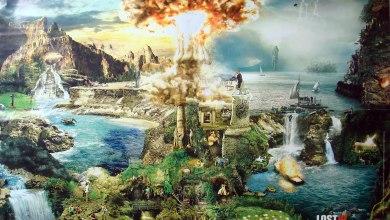 """Photo of Imagem sensacional """"mostra"""" toda a ilha de Lost"""