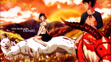 Photo of Wallpaper do dia: Mononoke Hime!