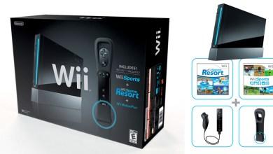 Photo of Oficial: Black Wii será finalmente lançado nos EUA! Trazendo ambos Wii Sports, além do Motion Plus!